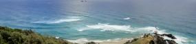 La pointe de Julian Rocks depuis le phare du cap Byron