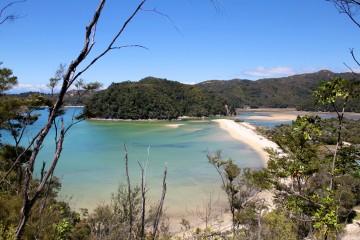 Torrent Bay au parc national Abel Tasman