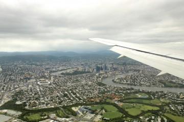 Brisbane vue du ciel