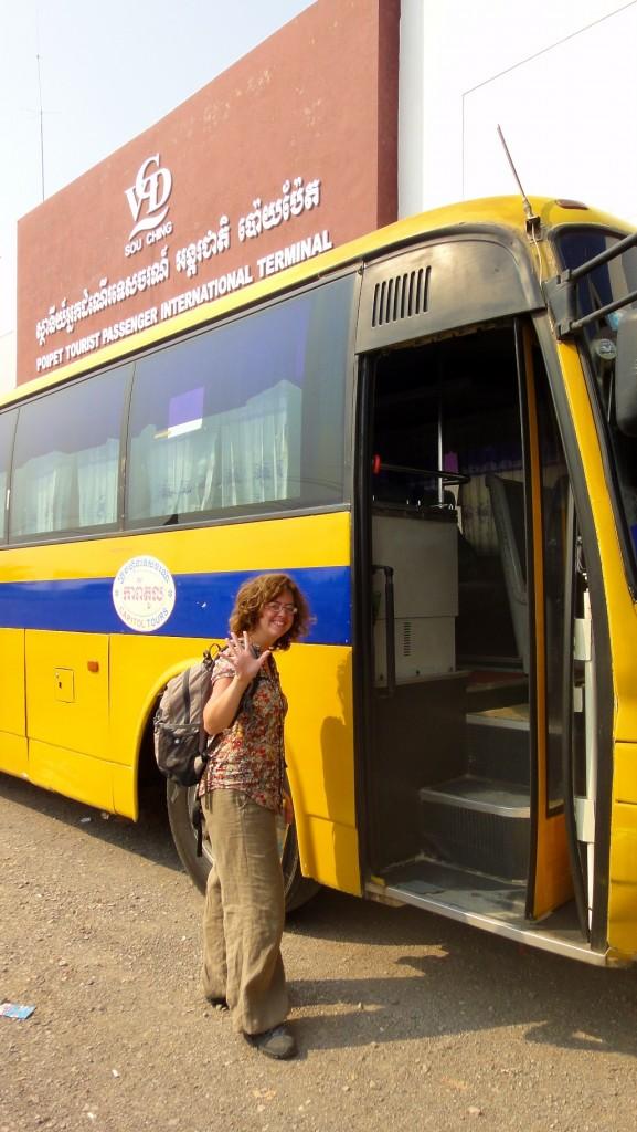 Bus Poipet / Siem Reap