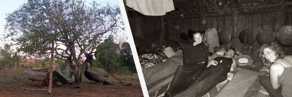 Nuit chez l'habitant dans un petit village pnong