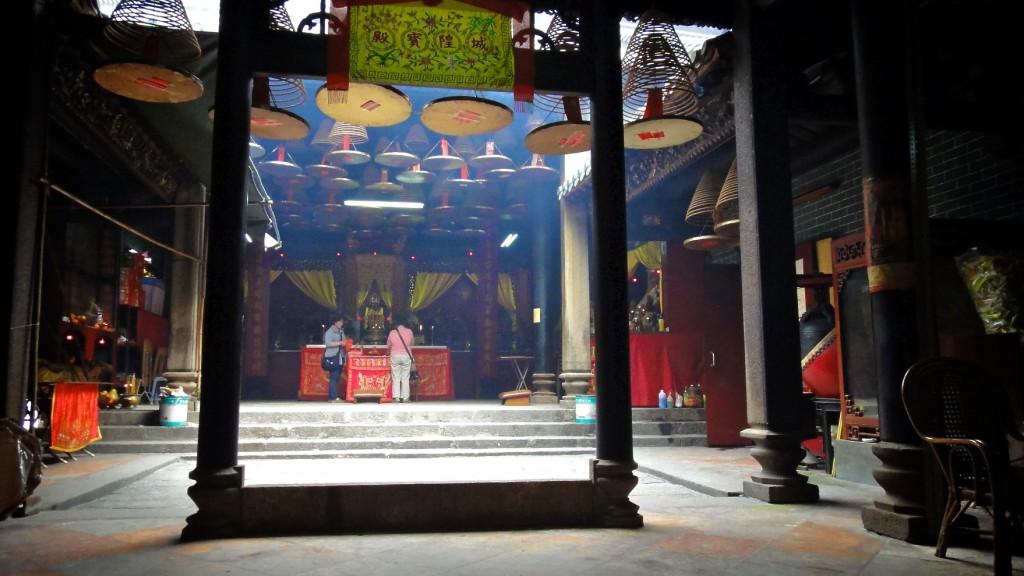 Tin Hau Temple près du Jade Market