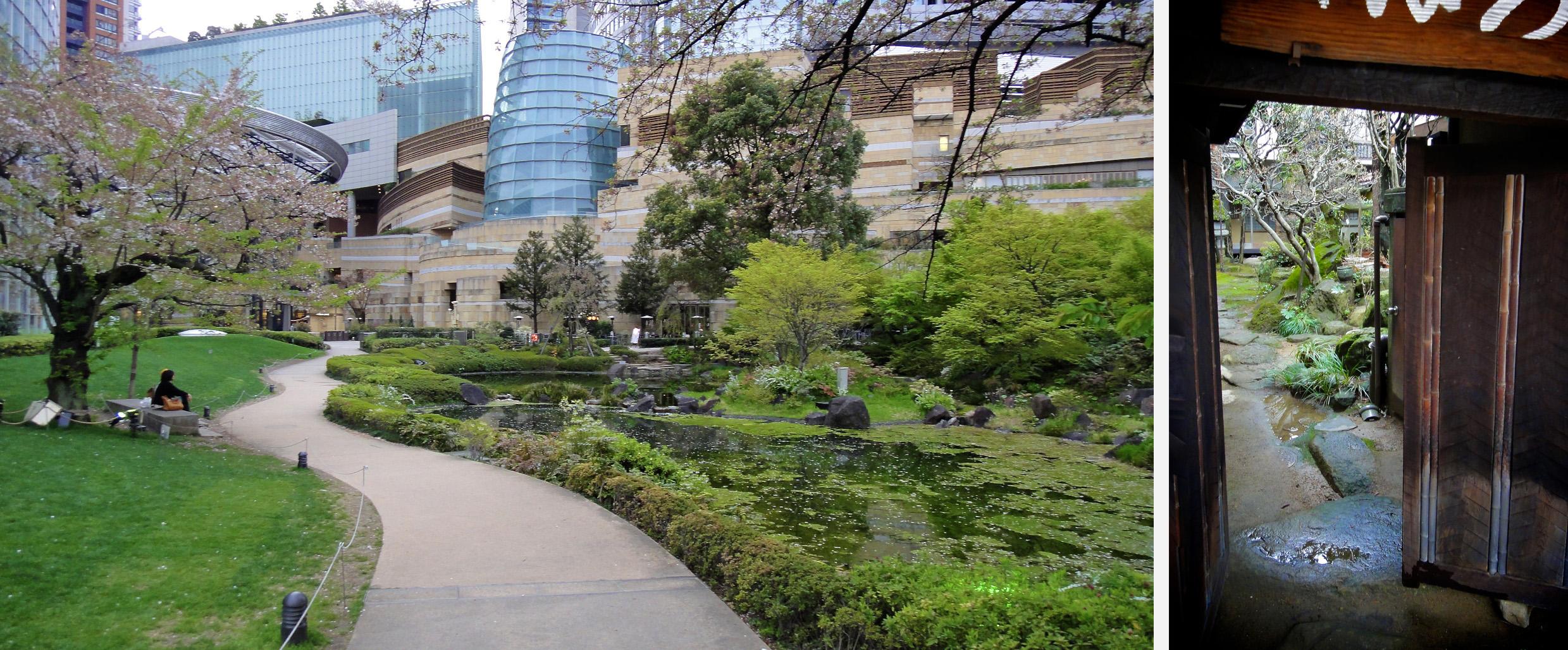 jardin zen en pleine ville ou derri re les portes des maisons. Black Bedroom Furniture Sets. Home Design Ideas