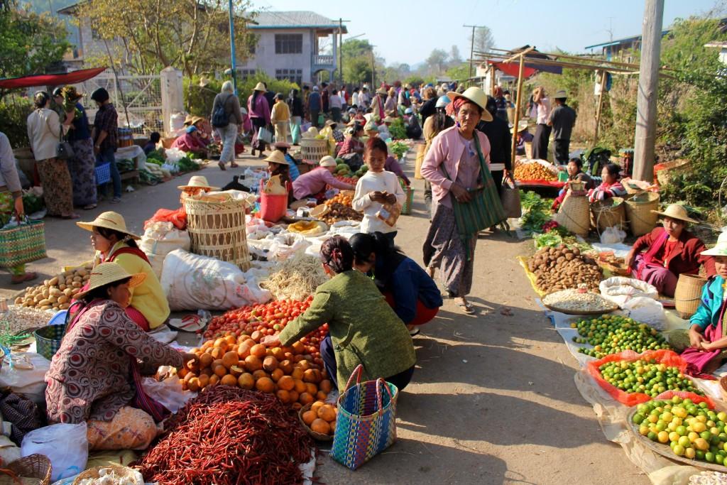 Grand marché de Kalaw