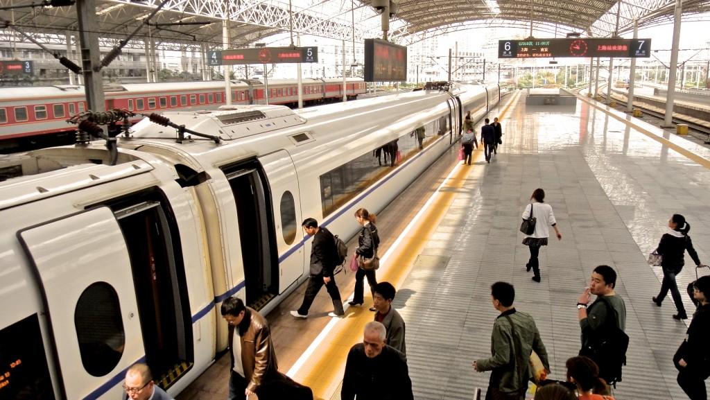 Nouveau TGV chinois