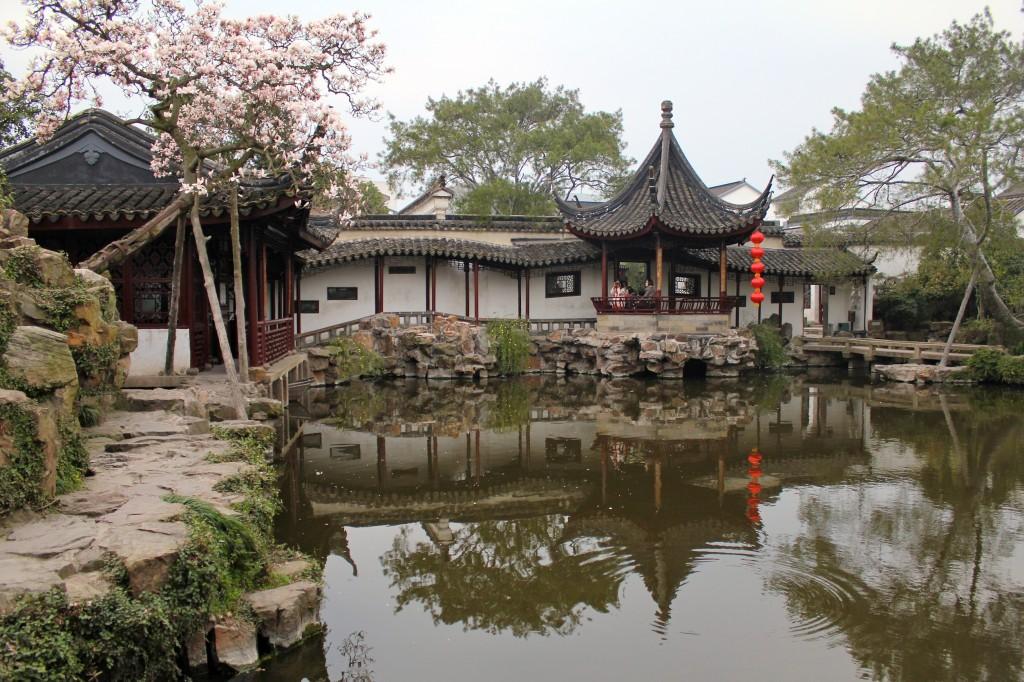 """Jardin chinois de """"la Politique des Humbles"""" à Suzhou"""