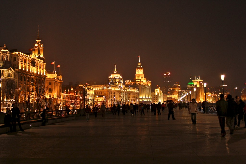 Immeubles du Bund à Shanghai