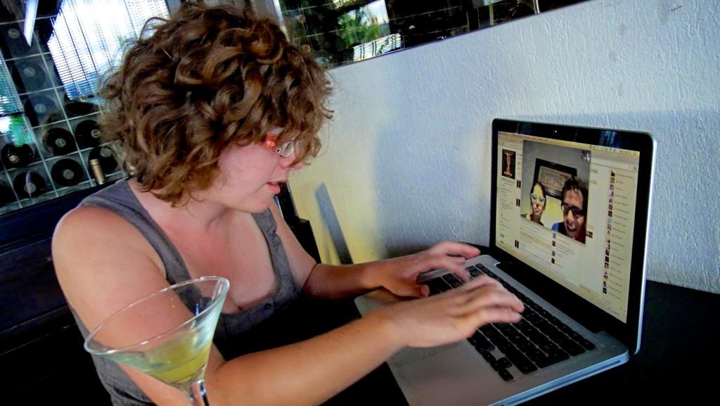 Petite séquence Skype à Buenos Aires
