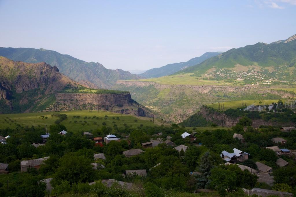 Canyon du Debed au nord de l'Arménie