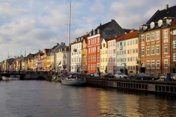Les magnifiques couleurs des vieux canaux de Christianshavn