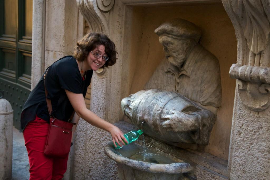 Une des milliers de fontaines de Rome