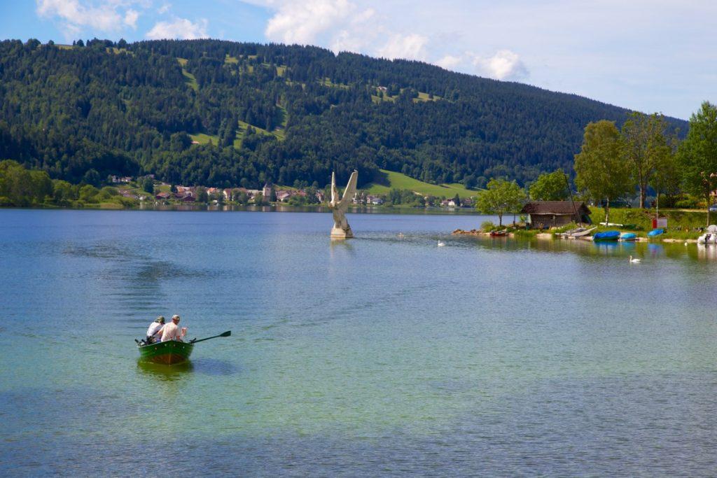 Magnifique lac de Joux