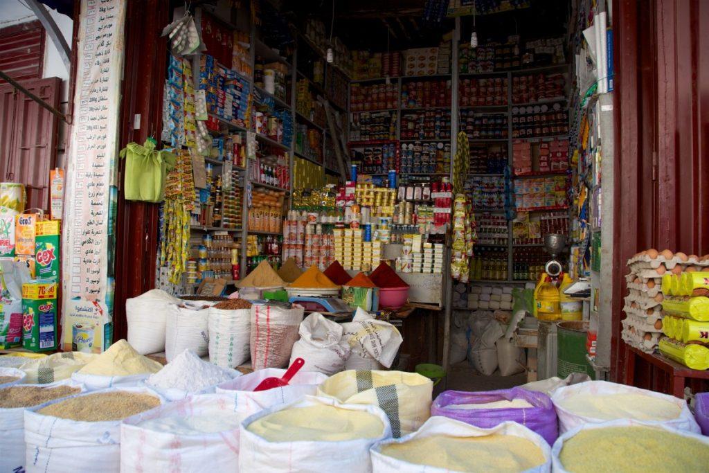 Supermarché de la médina... petit mais condensé